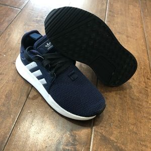Boys adidas shoes Sz 12 X PLR